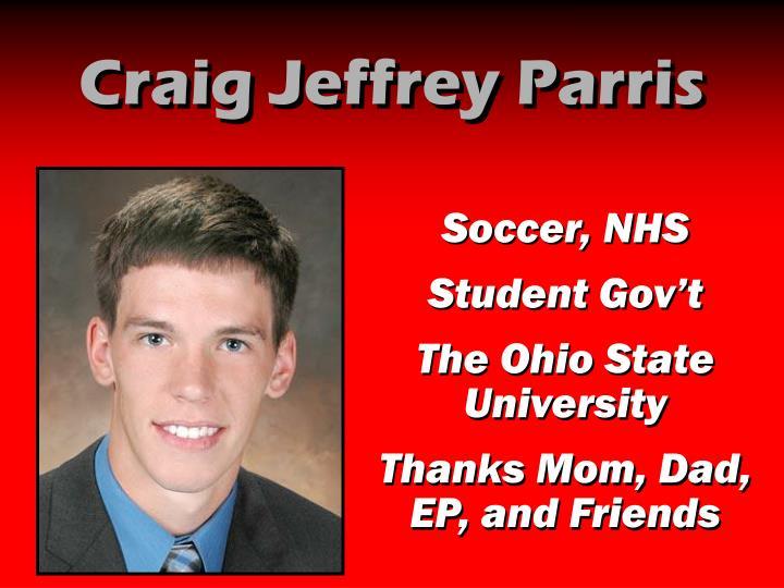 Craig Jeffrey Parris