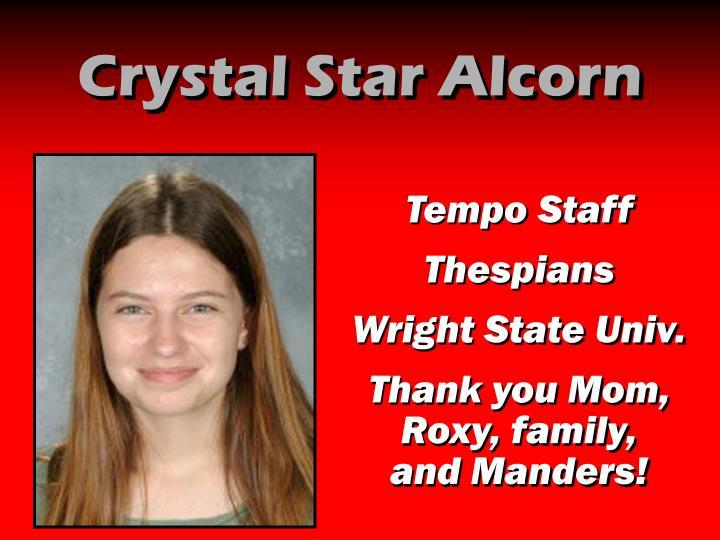 Crystal Star Alcorn