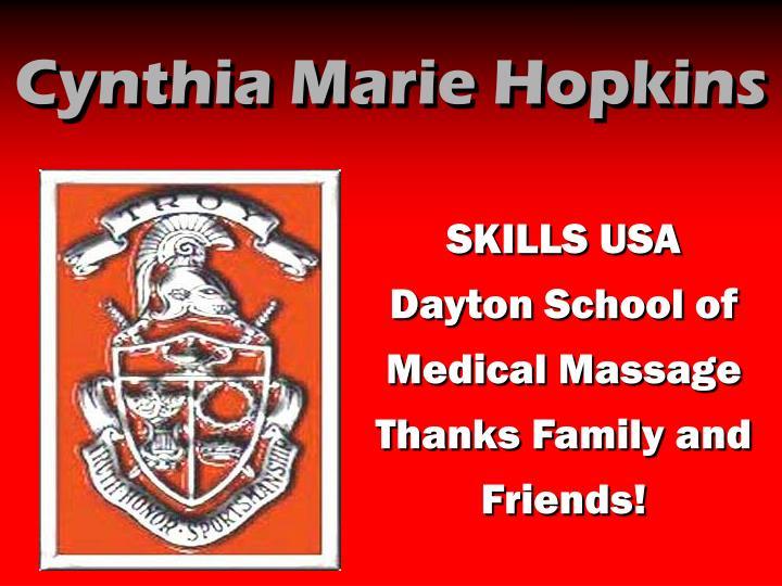 Cynthia Marie Hopkins