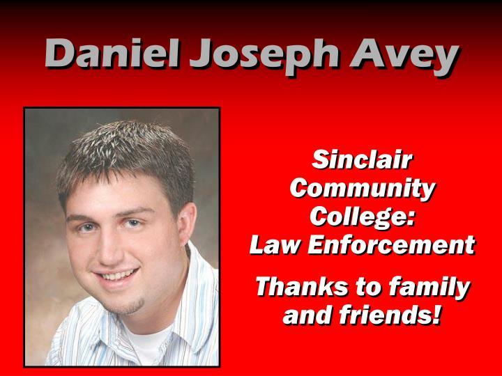 Daniel Joseph Avey