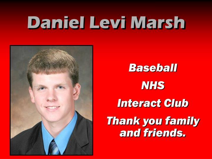 Daniel Levi Marsh