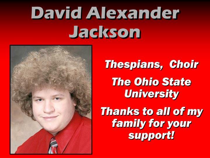 David Alexander Jackson