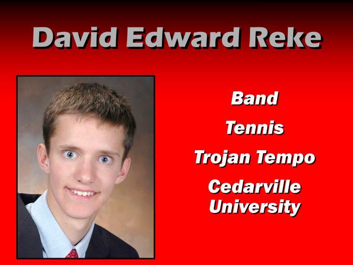 David Edward Reke