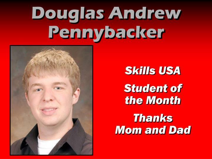 Douglas Andrew Pennybacker