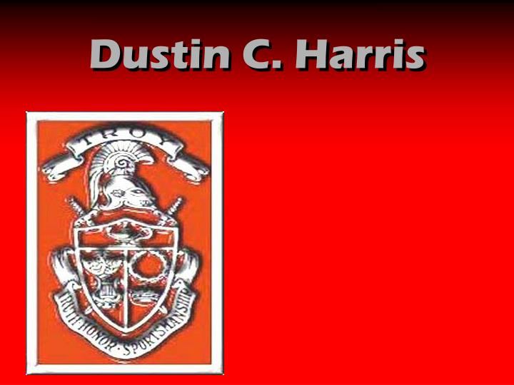 Dustin C. Harris