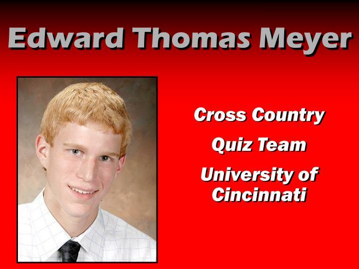 Edward Thomas Meyer