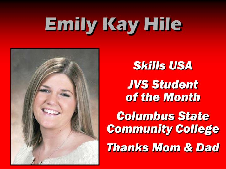 Emily Kay Hile