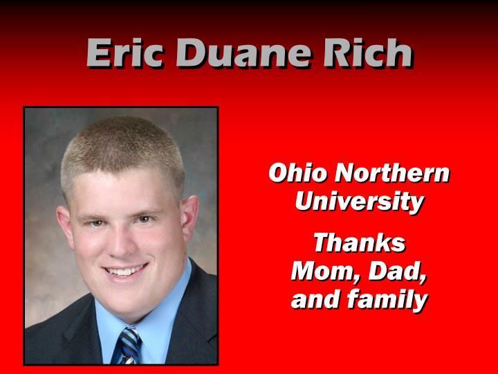 Eric Duane Rich