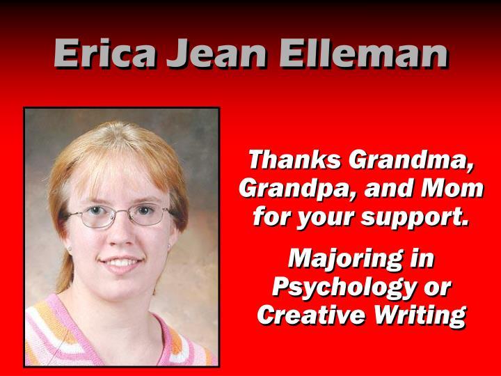 Erica Jean Elleman