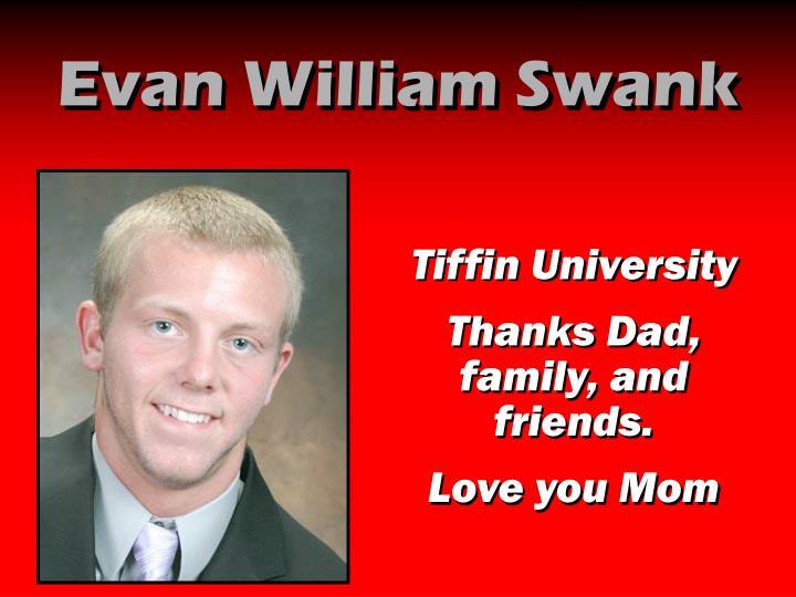Evan William Swank