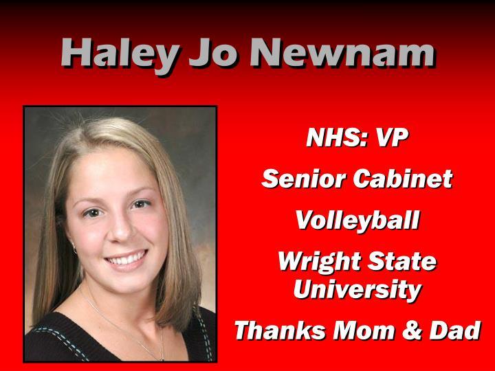 Haley Jo Newnam