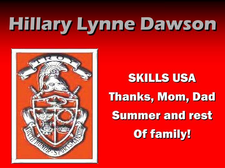 Hillary Lynne Dawson