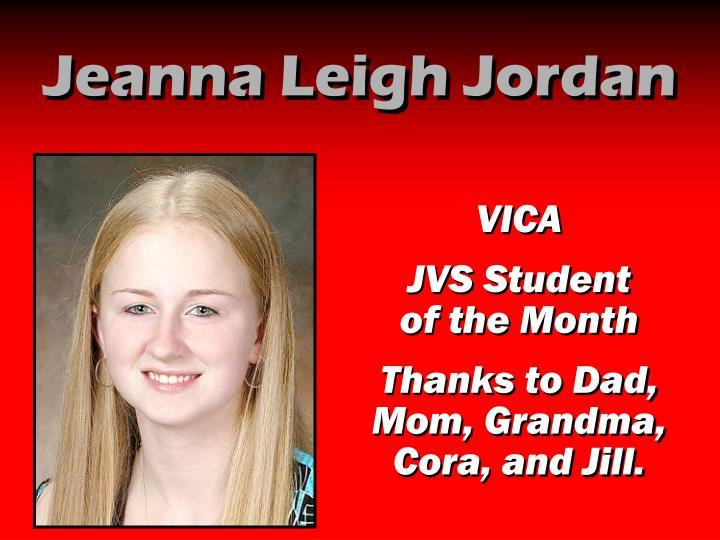 Jeanna Leigh Jordan