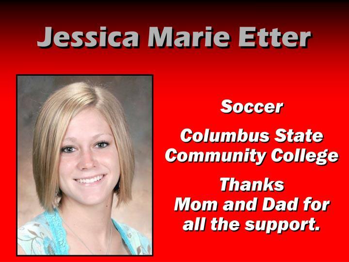 Jessica Marie Etter