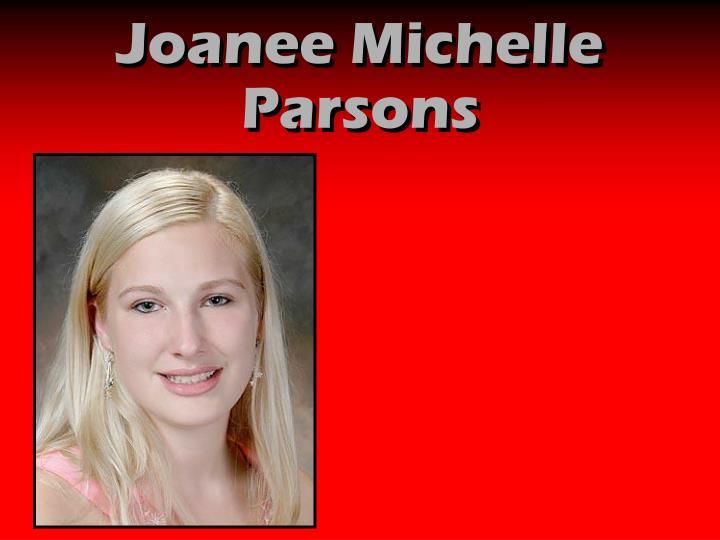 Joanee Michelle Parsons