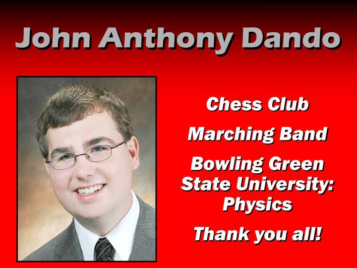 John Anthony Dando