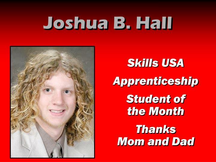 Joshua B. Hall