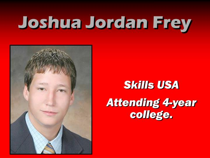 Joshua Jordan Frey