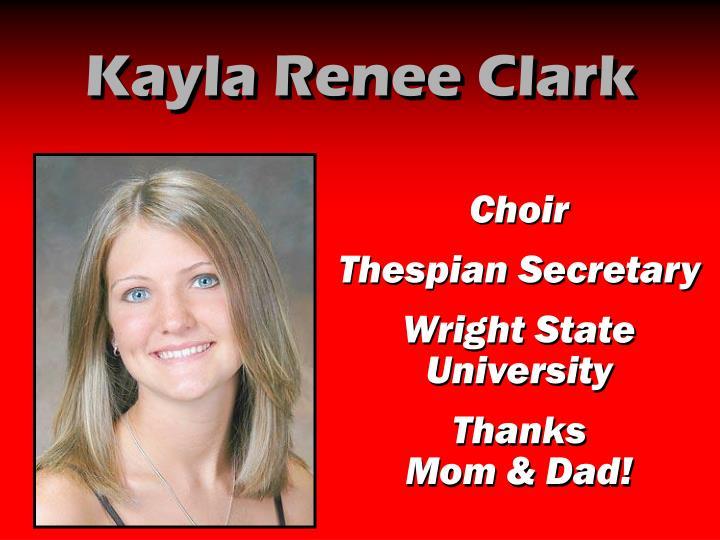 Kayla Renee Clark