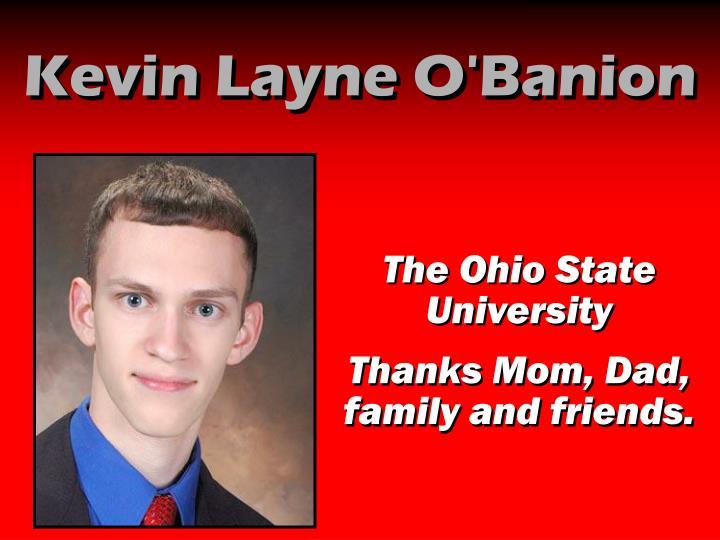 Kevin Layne O'Banion
