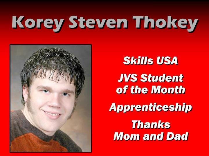 Korey Steven Thokey