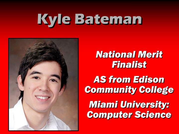 Kyle Bateman