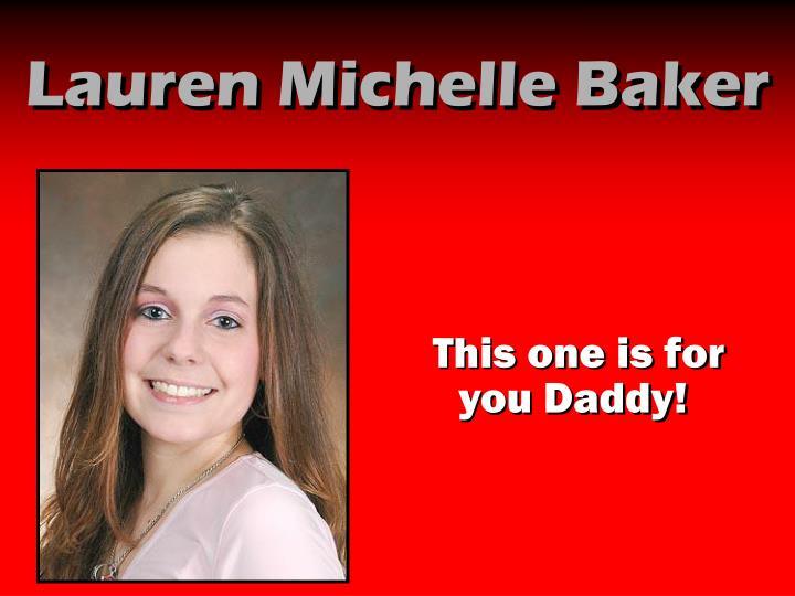 Lauren Michelle Baker
