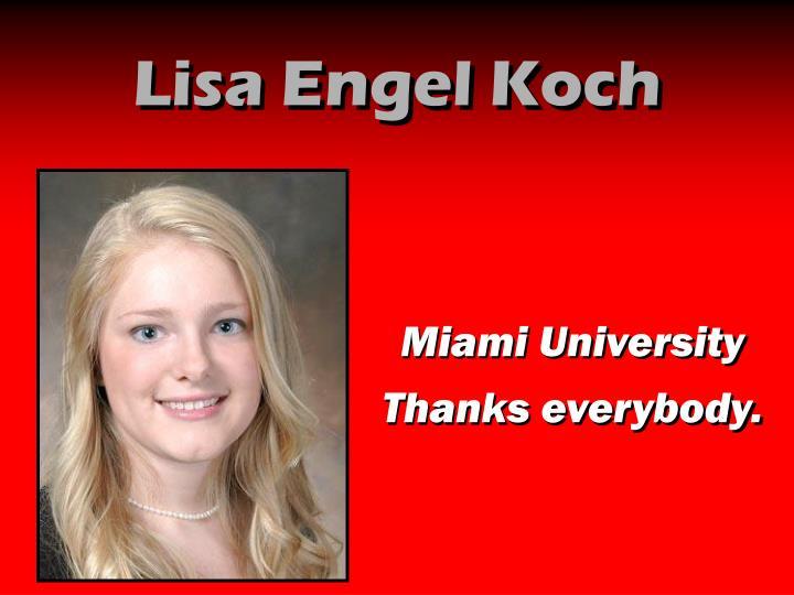 Lisa Engel Koch