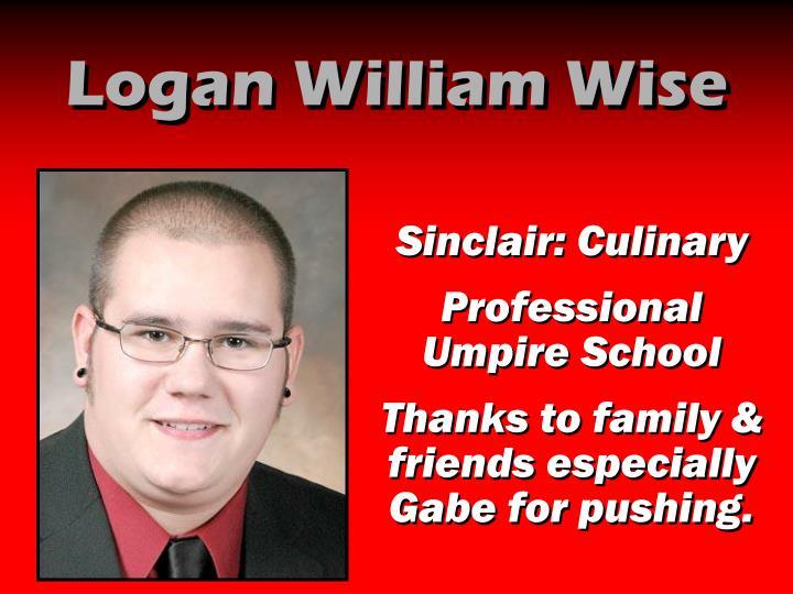 Logan William Wise