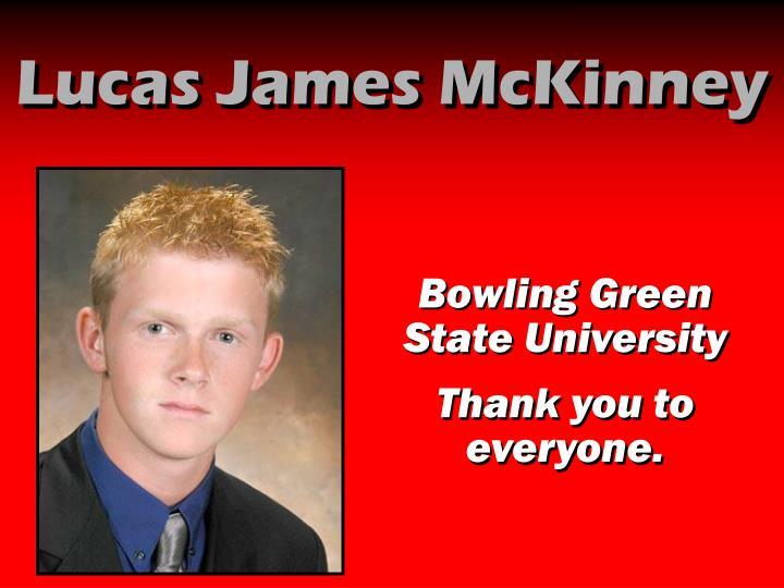 Lucas James McKinney
