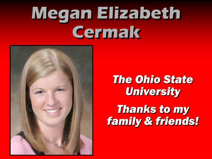 Megan Elizabeth Cermak