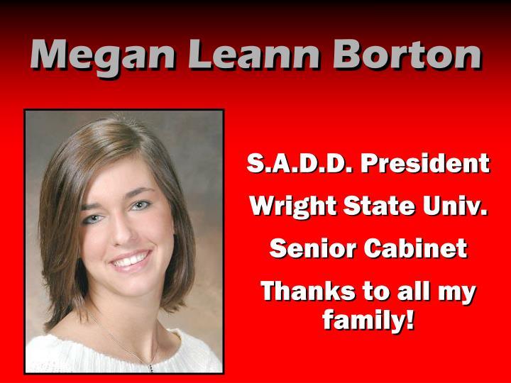 Megan Leann Borton