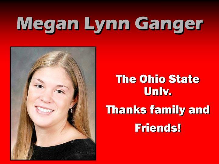 Megan Lynn Ganger