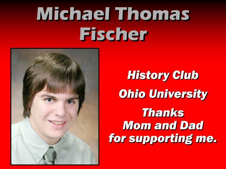 Michael Thomas Fischer