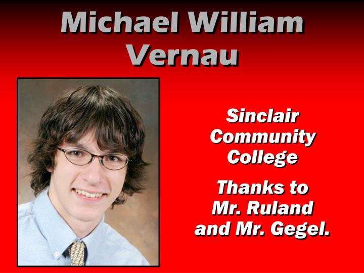 Michael William Vernau