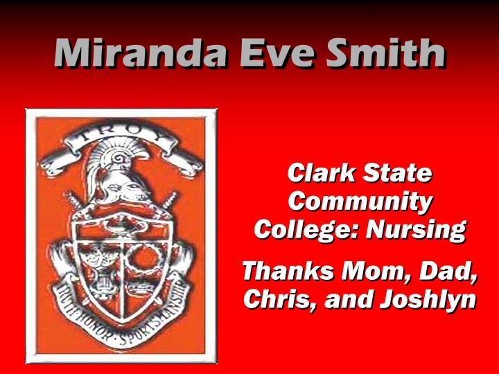 Miranda Eve Smith