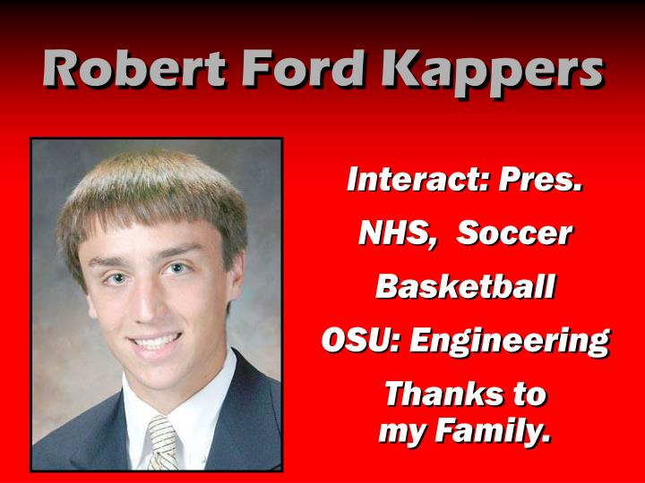 Robert Ford Kappers