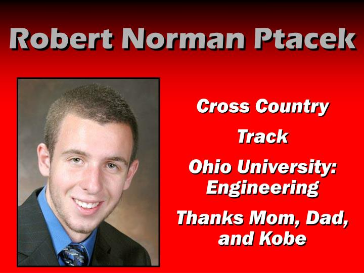 Robert Norman Ptacek
