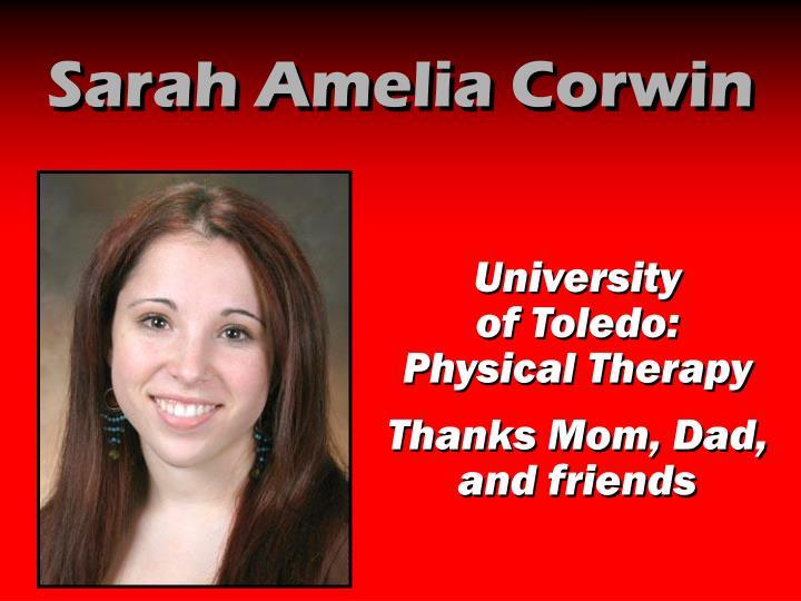 Sarah Amelia Corwin