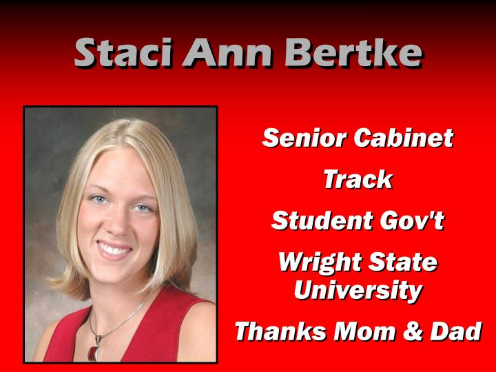 Staci Ann Bertke