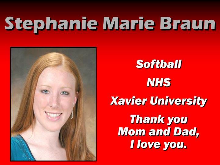Stephanie Marie Braun