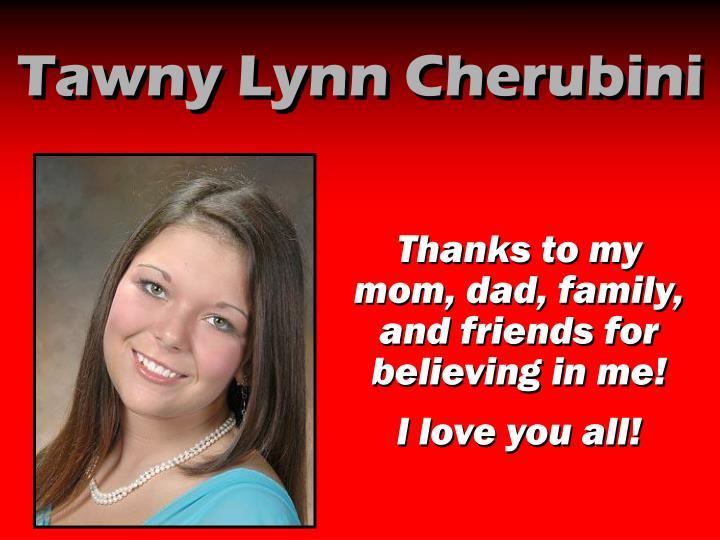 Tawny Lynn Cherubini