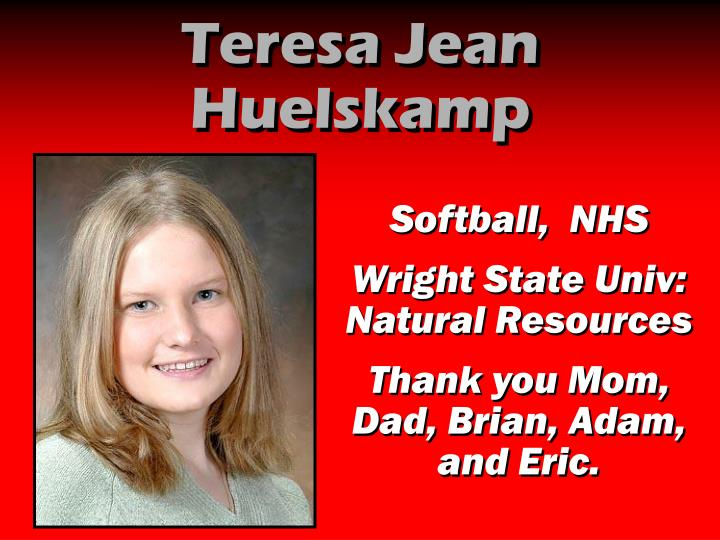 Teresa Jean Huelskamp