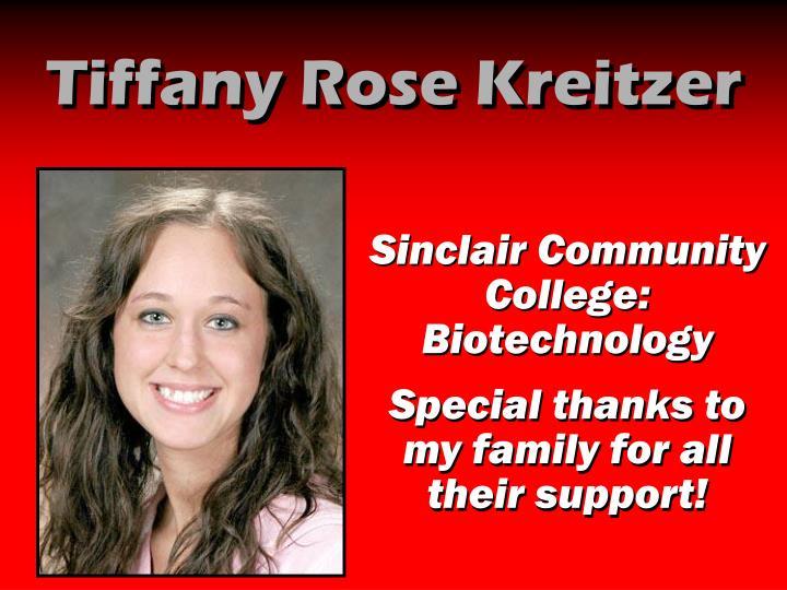 Tiffany Rose Kreitzer