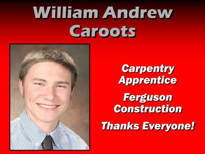 William Andrew Caroots