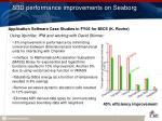 s3d performance improvements on seaborg