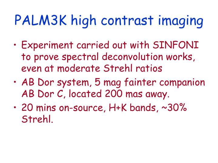 PALM3K high contrast imaging