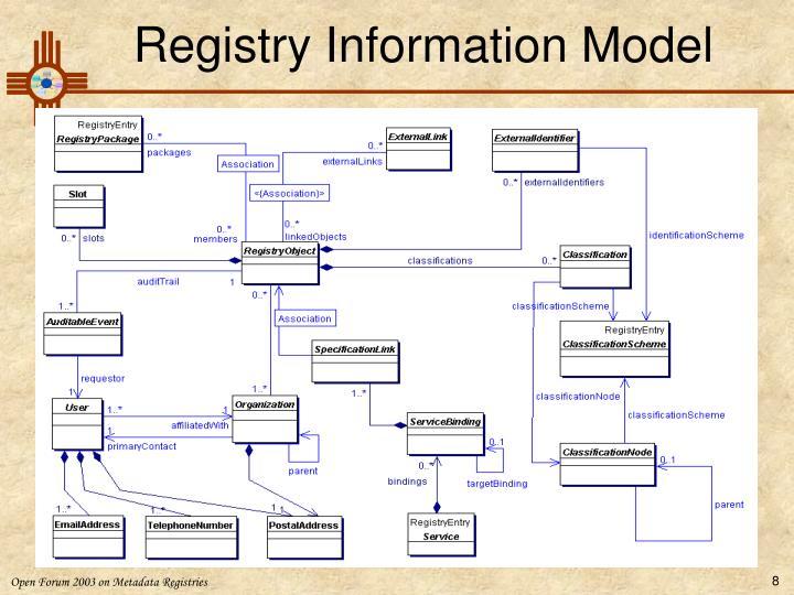 Registry Information Model