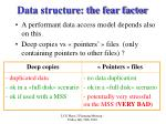 data structure the fear factor