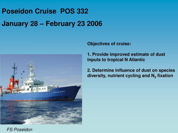 Poseidon Cruise  POS 332